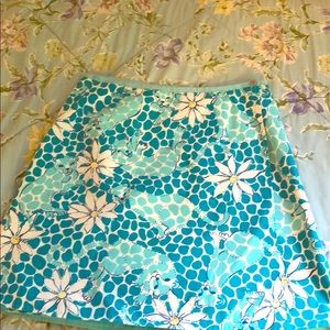 Lilly Pulitzer Wrap Skirt - Size 10